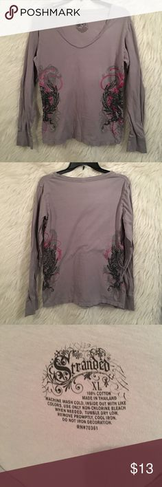 ⛄️ End of Winter Sale 3 for $20 ⛄️ Stranded - VNeck Blouse - XL - EUC - Excellent Condition - No Holes - No Stains Stranded Tops