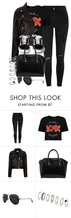 """Style #11676"" by vany-alvarado ❤ liked on Polyvore featuring River Island, Boohoo, Étoile Isabel Marant, Givenchy and Ray-Ban"