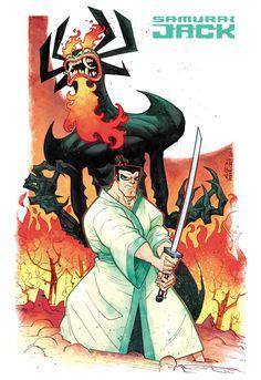 Samurai Jack by rogercruz on DeviantArt