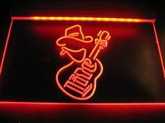Miller Lite Guitar Logo Beer Bar Pub Store Neon
