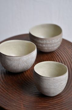 I've been filling my home with tiny bowls like this. Pottery is a guilty pleasure of mine.
