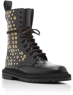 65fc7b0142ec Burberry Aster Eye Lace Up Boots Burberry Boots