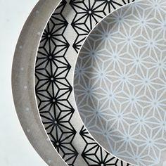 Melamine & Linen Circular Platter on Food52