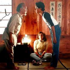 The Karate Kid 1984, Karate Kid Movie, Karate Kid Cobra Kai, 80s Movies, Good Movies, Cobra Kai Dojo, Elisabeth Shue, Michael J Fox, Kids Fans