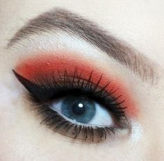 Red and neutrals using Morphe 35OM