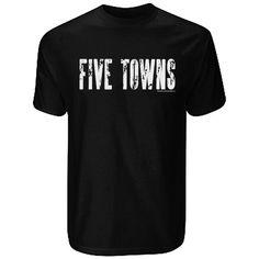 Entourage Five Town Men's T-Shirt Entourage, Mens Tops, T Shirt, How To Wear, Shopping, Big, Image, Supreme T Shirt, Tee
