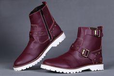 Timberland Men's 6 Inch Premium Pull-On Waterproof Boots - Burgundy,Fashion Timberland Boots,Timberland Boots Outfit,New Timberland Boots 2016 All Black Timberland Boots, Timberland Boots Outlet, Timberland Earthkeepers Boots, Timberland Classic, Timberland Pro, Black Timberlands, Black Boots, Chukka Shoes, Sneaker Boots