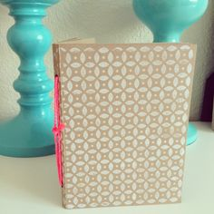 DIY Kraft Paper Notebook
