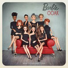 Custom Barbie, Barbie World, Vintage Vibes, Lbd, Fashion Dolls, Going Out, Childhood, Barbies Dolls, Collection