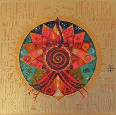 Pulsion de vie – Caroline Manière Illustration Photo, Illustrations, Arte Mandela, Mandala Art, Tribal Images, Alchemy Art, Indian Feather Tattoos, Totems, Goddess Art