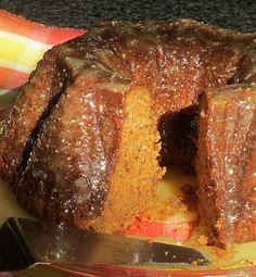 Gram's Fig Spice Bundt Cake with Buttermilk Glaze