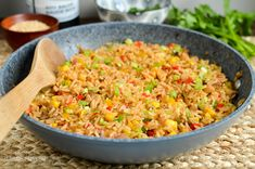 Slimming Eats Syn Free Savoury Rice - gluten free, dairy free, Slimming World and Weight Watchers friendly Savoury Rice Recipe, Savory Rice, Slimming Eats, Slimming World Recipes, Rice Recipes, Cooking Recipes, Healthy Recipes, Gluten Free Rice, Dairy Free