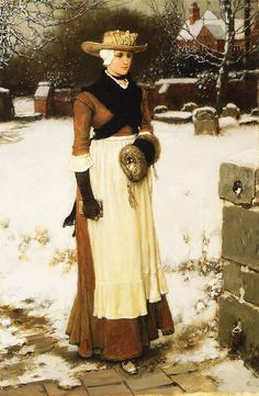 Puritan Maiden George H. Boughton