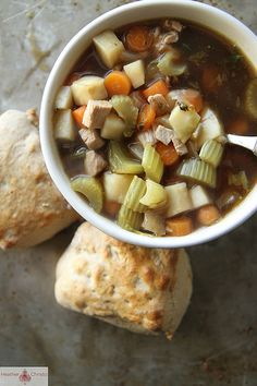 Guinness, Chicken and Vegetable Soup