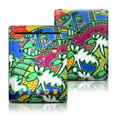 Apple iPad 3 Skin - Pass Over by Toyism Art Movement