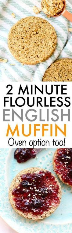 2 Minute Flourless English Muffin   The big man's world   Bloglovin'