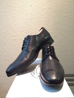 Current collection - cole haan Copley derby. Bigger fan if these on than not on.