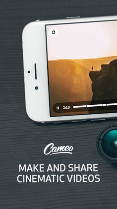 Cameo - Video Editor and Movie Maker by Vimeo #iphoneography