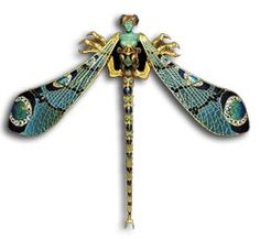 Rene #Lalique #dragonfly #brooch.