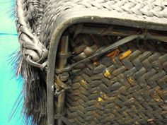 Filipino Ifugao Igorot rattan wood Big Tribal Backpack/basket Philippine - Other