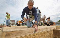 Hampton Habitat home for Army veteran gets unique work crew   #daily_press   #hampton #virginia #veteran #habitatforhumanity #habitatforheroes #localgov #housing #communities