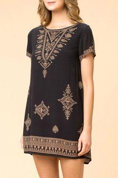 onetheland Aztec Boho Dress