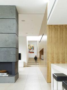 Wood, White, Grey Fiber Cement