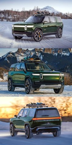 Everything You Should Know About The Rivian SUV. The world needs an American full-size electric SUV. Dream Auto, Dream Cars, Best Luxury Cars, Luxury Suv, Future Concept Cars, Inspirational Poems, October 20, Fj Cruiser, Retro Cars