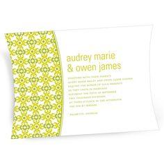 Vintage Wedding Invitations -- Vibrant Pattern #weddinginvitations #weddingideas #peartreegreetings