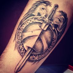 Shield Tattoo Meanings | iTattooDesigns.com