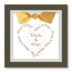All My Heart Wedding Invitations