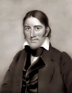 "Davy Crockett - the famed Tennessee Congressman who fought and died for Texas independence at the Alamo, one of Texas' greatest heros. When he left politics, he told his constituents, ""You may all go to hell, and I will go to Texas."""