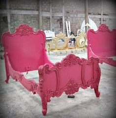Couture Furniture ❦ Love, Love the color