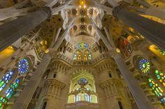 Basílica i Temple Expiatori de la Sagrada Família Barcelona Catalonia Spain  www.alamy.com/image-details-popup.asp?ARef=G08G7E  #barcelona #spain #familia #sagrada #church #gaudi #europe #architecture #landmark #travel #famous #building #catalonia #monument #catalan #cathedral #spanish #religion #catholic #tourism #gothic #art #antoni #history #construction #roman #christianity #stone #modern #beautiful
