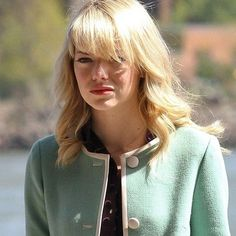 The Amazing Spider-Man 2 Set Photos Reveal a Huge Gwen Stacy Spoiler -- The actress shows up on a bridge wearing an iconic piece of clothing from the Marvel Comic Books. -- http://wtch.it/SJVel