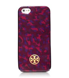Tory Burch iPhone case in cabernet leopard Dyi, Ipod Cases, Laptop Cases, Tech Gifts, Leopard Pattern, Tech Accessories, Tory Burch, Give It To Me, Shoe Bag