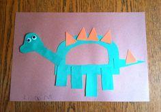 Dd week, kids dinosaur project