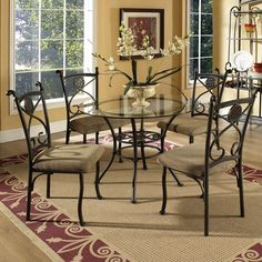 Brookfield 5 Piece Dining Set by Steve Silver
