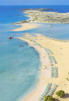 Elafonisi. Chania, Crete, Greece