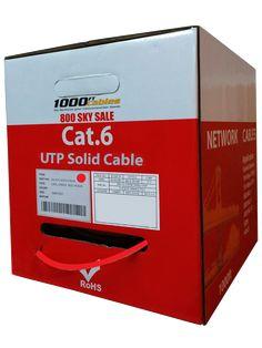 CAT5e 100-MHz Solid Bulk Cable UTP cm Green Black Box 1000-ft