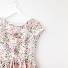 Mabel Dress - Red Roses