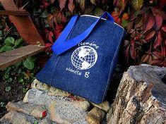 Handmademaja / RECY taška Jeans - Nemáme planétu B Kanken Backpack, Backpacks, Jeans, Handmade, Fashion, Moda, Hand Made, Fashion Styles, Backpack