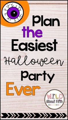 Read all about four Halloween Party Stations (already planned for you) that will make your classroom party planning so easy.