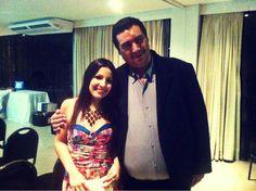 Brisa Lima e Francisco Cavalcante. Lançamento da Rede Social politicabook