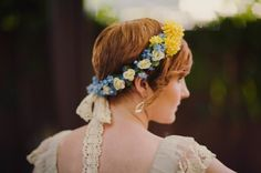 Bride with short hair