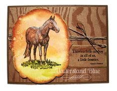 Understand Blue: Search results for Horse Frontier Westerns, Kids Cards, Men's Cards, Horse Cards, Western Theme, Birthday Cards For Men, Animal Cards, Masculine Cards, Cool Cards