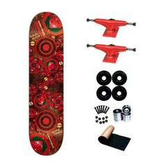 Almost Rodney Mullen Cosmos Double Impact 7.75 Skateboard Deck Complete by Elemanal. $68.99. Brand New, Top Quality Almost Skateboard Complete.