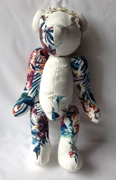 Blossom Teddy by TanelTammDesign on Etsy