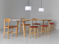 Zeitraum Rail Extendable Dining Table
