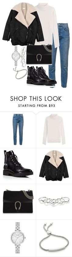 """""""Untitled #3269"""" by theeuropeancloset ❤ liked on Polyvore featuring 10 Crosby Derek Lam, IRIS VON ARNIM, Kendall + Kylie, Gucci, MANIAMANIA, Kate Spade and Monica Vinader"""